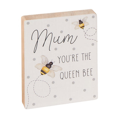 Mum Bee Block - Queen Bee 9685