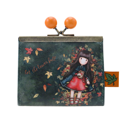 Gorjuss Autumn Leaves - Clasp Purse 9659