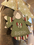 Personalised Large Christmas Country Angel 8268