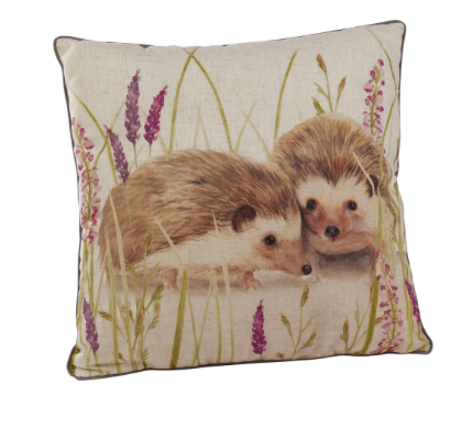 Hedgehog Couple Cushion 10399