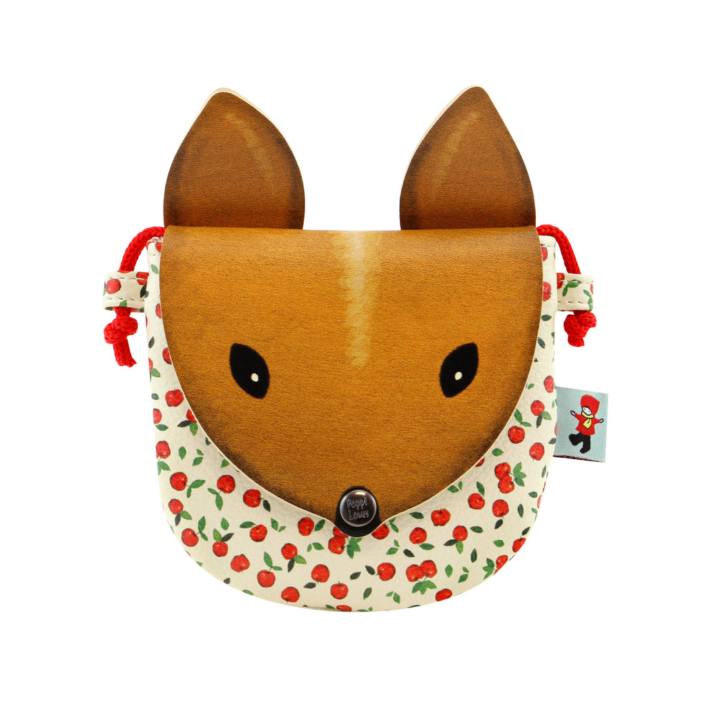 Poppi Loves Animal Purse - Squirrel 8115