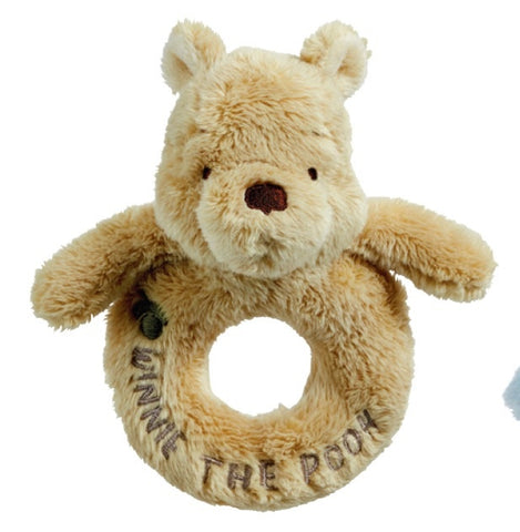 Classic Pooh Ring Rattle 6908