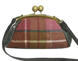 Earth Squared Tweed Erin Bag - Damson 8377