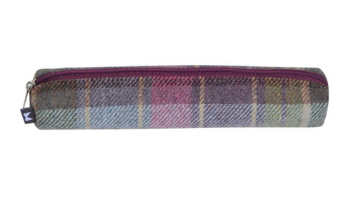 Earth Squared Tweed Pencil Case - Heather 8381
