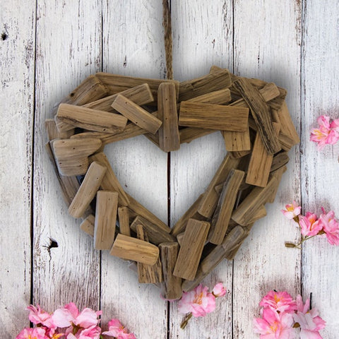 Driftwood Heart Wreath 10049