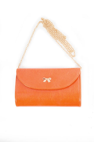 Naomi Shoulder Bag in Tangerine 5097