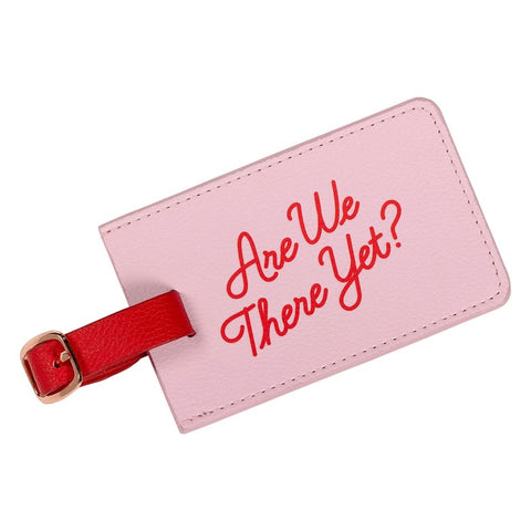 Yes Studio Luggage Tag - Are We There Yet 8915