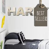 Personalised Wall Letters - Boat 8561