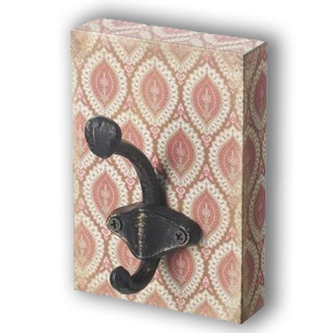 Wall Hook Block - Terracotta 10128