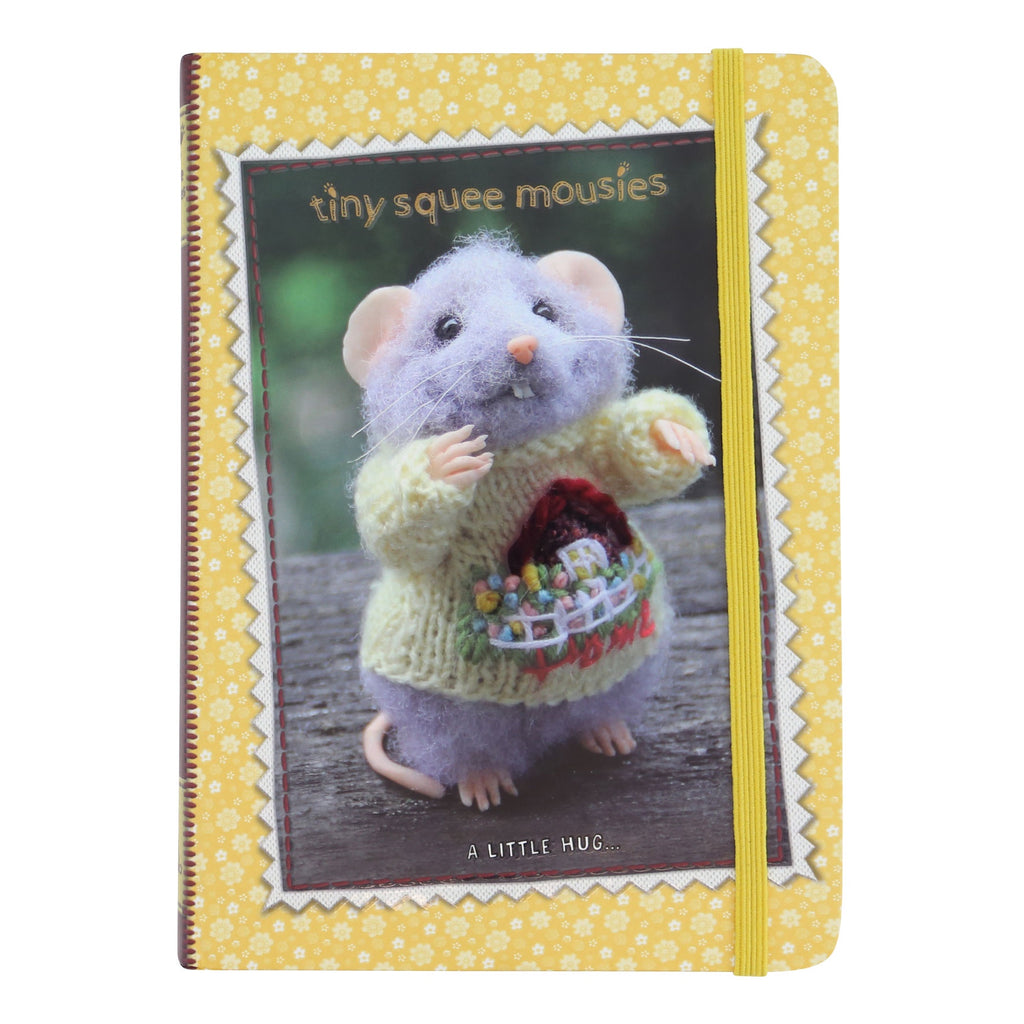 Tiny Squee Mousies Hardcover Notebook - Little Hug 9513