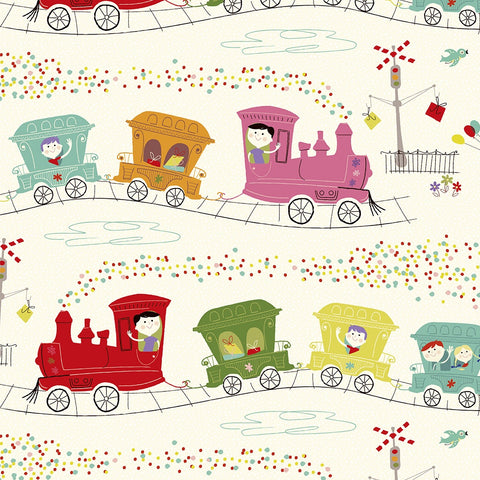 Wrapping Paper - Party Train 11194