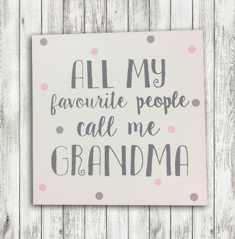 Grandma Coaster - My Favourite People 8667