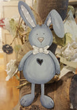 Personalised Bunny Plaque - Blue 8769