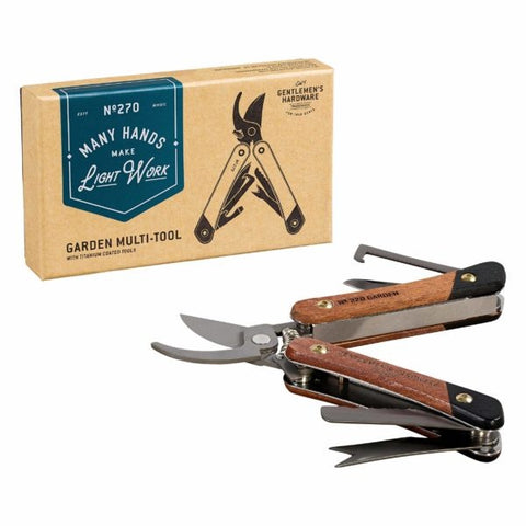 Garden Multi Tool Titanium Finish 8905