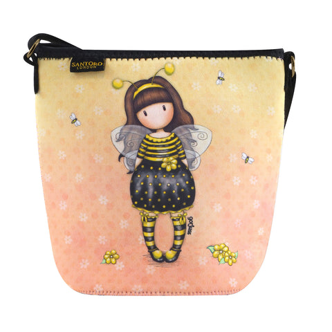 Gorjuss Neoprene Bag - Bee-Loved 8489