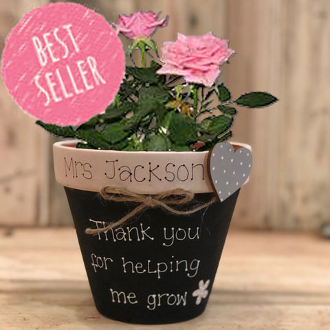 Personalised Plant Pot Md - 8941