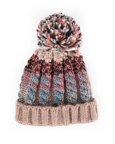 Powder Astrid Hat in Teal Mix 8225