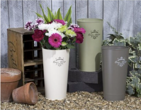 Tall Flower Bucket 8995