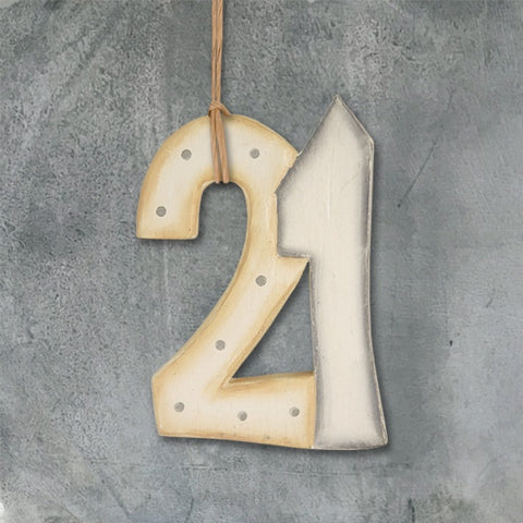 Number on String - '21' 447