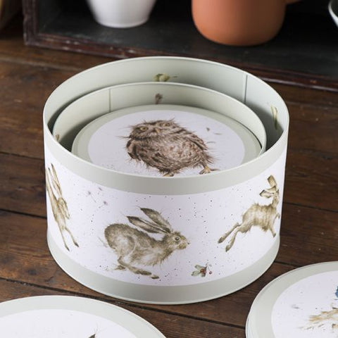 Cake Tin Nest - Hare, Duck, Owl 10966