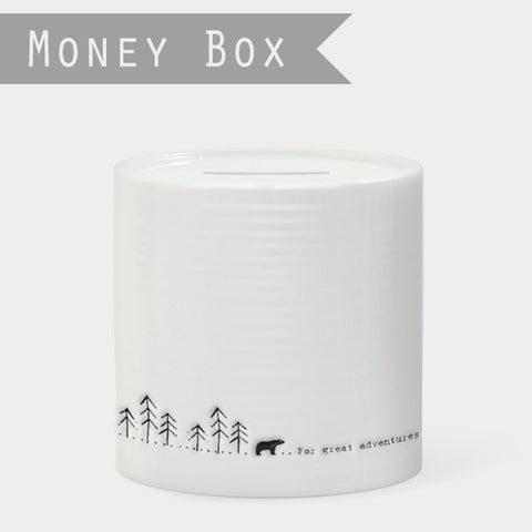 Porcelain Money Box - For Great Adventures 7992