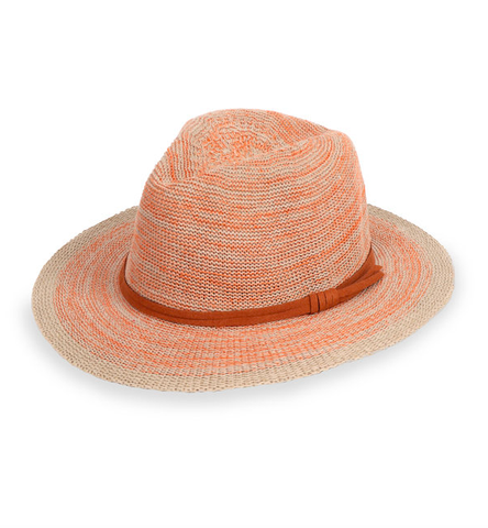 Powder Hat - Natalie in Tangerine 9774