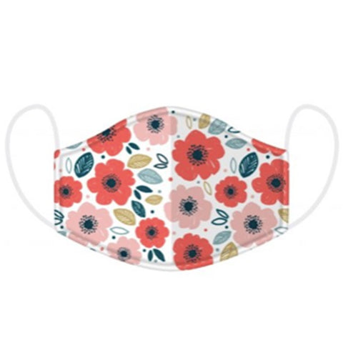 Adult Face Mask - Poppy 10232
