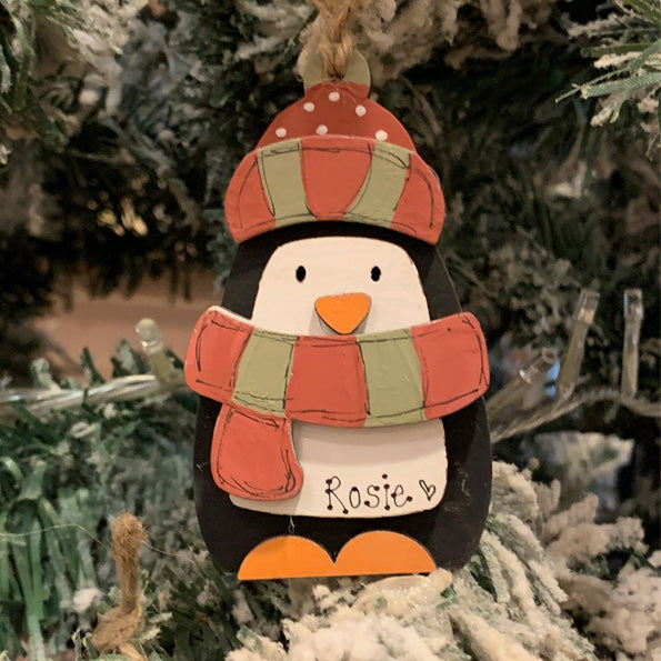 Personalised Christmas Penguin 9471