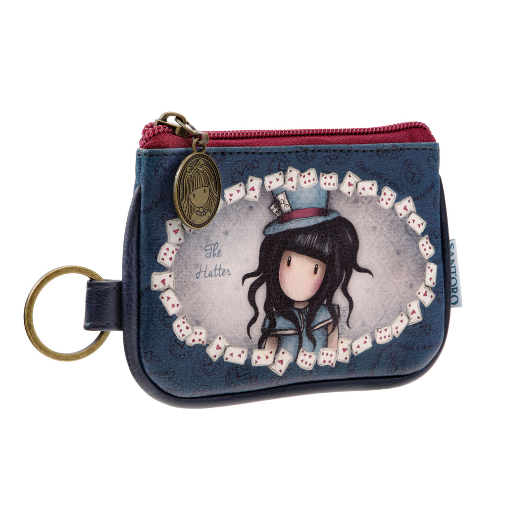 40426dd2713 Gorjuss Keyring Zip Purse - The Hatter 8465. Images   1   2   3 ...