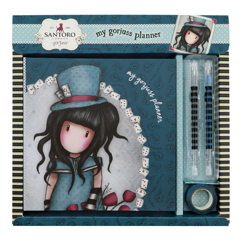 Gorjuss Boxed Planner Set - The Hatter 8469