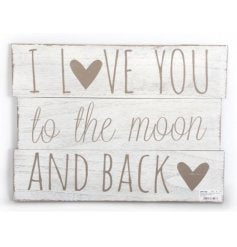 Sign -  Love You to the Moon Panel 856