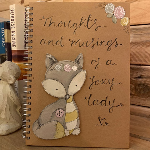 Personalised Animal Range - A5 Notebook 8638
