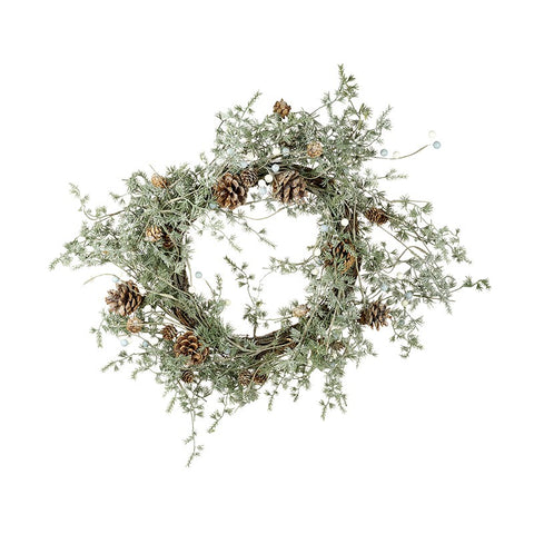 Large Fir Cone Wreath 10507