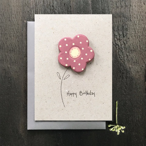 Wood Card - Happy Birthday 10197