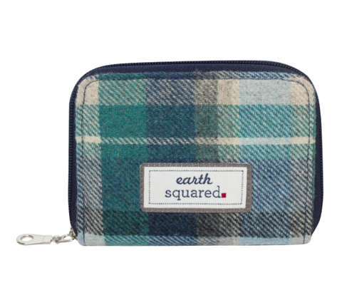 Earth Squared Tweed Wallet - Cloudburst 10153