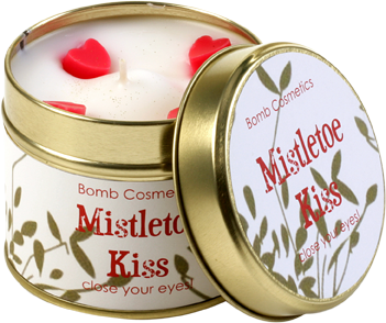 Candle Tin- Mistletoe Kiss 6854