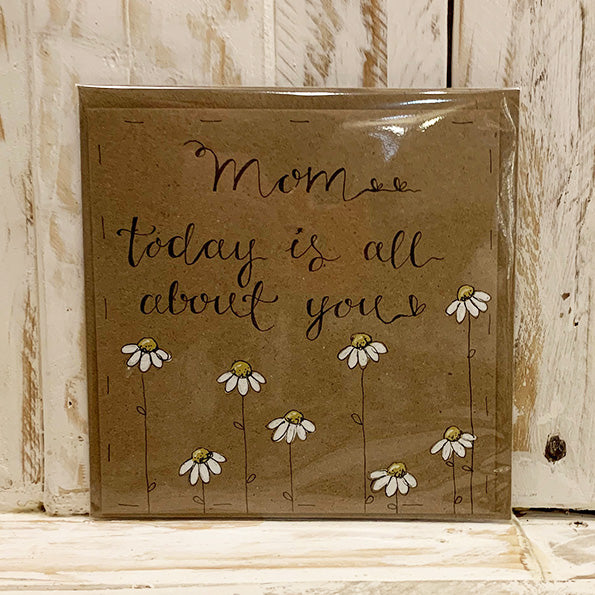 Handmade Little Daisies Card - Mom About You 9897