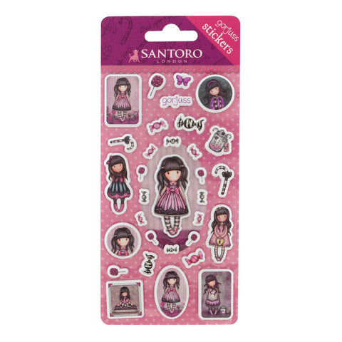 Gorjuss Sticker Packs - Sugar And Spice 7506