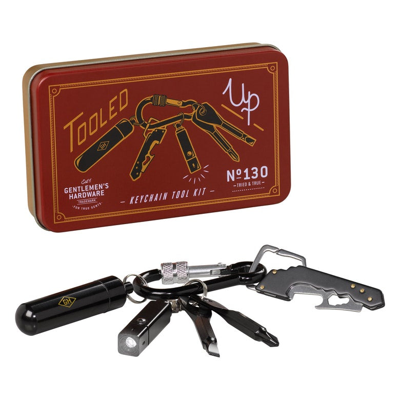 Gentleman's Hardware Key Chain Tool Kit 8449