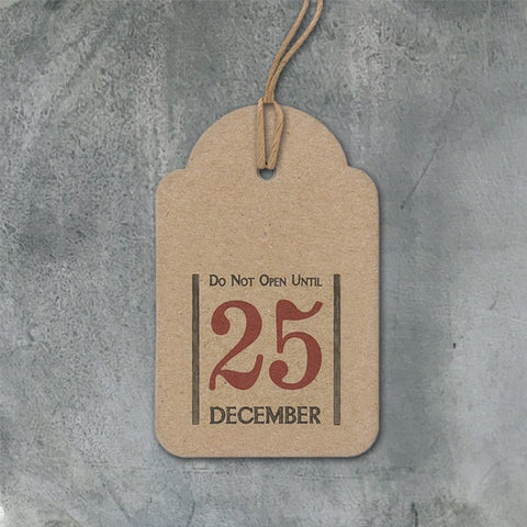 Christmas Luggage Tag - Do Not Open Until 10579