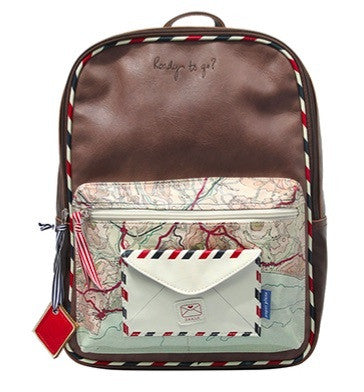 Disaster Paper Plane Backpack 797