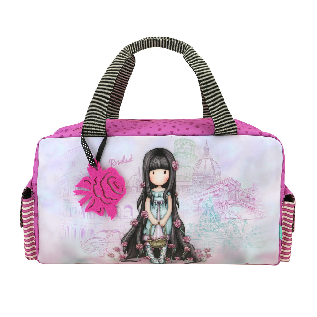 Gorjuss Cityscape Sports Bag - Rosebud 7600