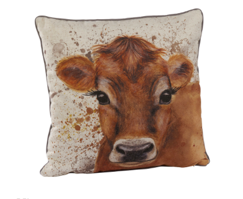 Cow Splatter Cushion 10018