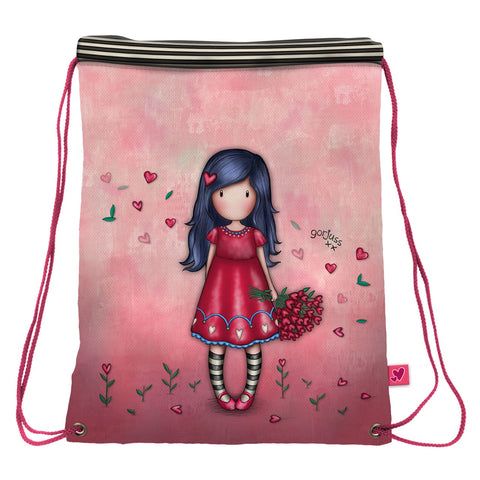 Gorjuss Love Grows Drawstring Bag 10170
