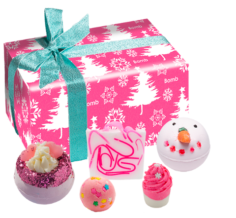 Bomb Cosmetics Gift Set - Dreaming of a Pink Christmas 8284