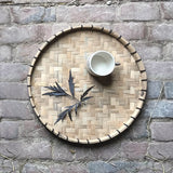 Wooden Round Tray Small 9106