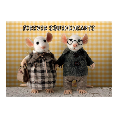 Tiny Squee Mousies Card - Forever Squekhearts 9511