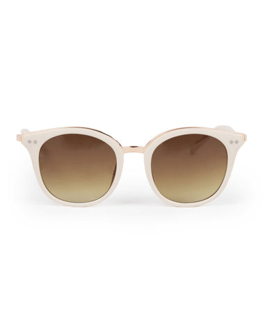 Sunglasses - Adele in Cream/Gold 7370