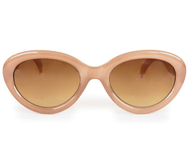 Powder Sunglasses - Audrey in Stone / Candy 8590