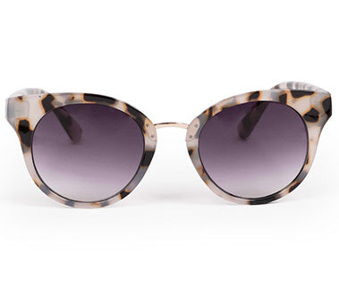 Powder Sunglasses - Aurora Cream Tortoiseshell 7373